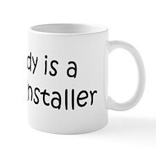 Daddy: Drywall Installer Mug