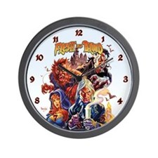 Flesh and Blood Wall Clock