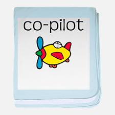Co-pilot baby blanket