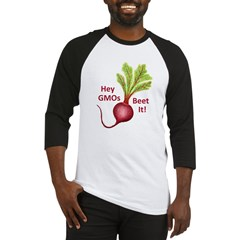 Hey GMOs Beet It Baseball Jersey