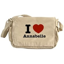 I love Annabelle Messenger Bag