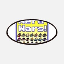 Nerd Wars 8-Bit with Backgrou Patches
