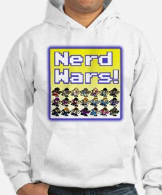 Nerd Wars 8-Bit with Backgrou Jumper Hoody