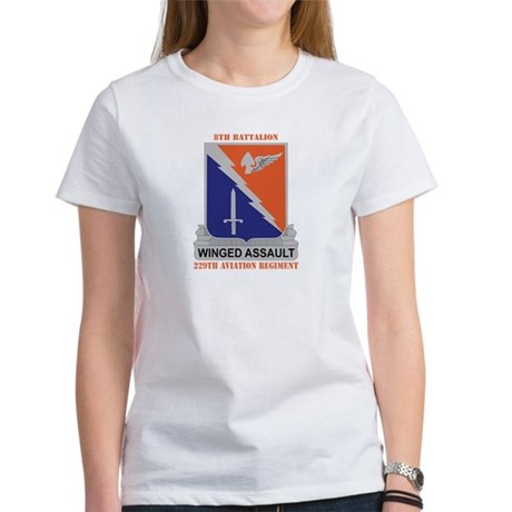 DUI - 8-229th Aviation Regiment with Text Women's