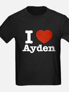 I love Ayden T