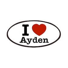 I love Ayden Patches