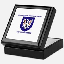 SSI - HHC-11th Aviation Command with text Keepsake