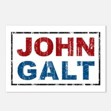 John Galt Postcards (Package of 8)