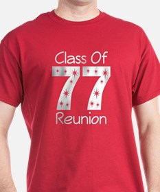 Class Of 1977 Reunion T-Shirt