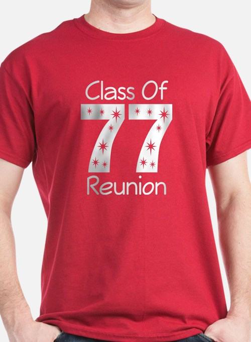 class of 1977 reunion t shirt class reunion t shirt design ideas - Class Reunion T Shirt Design Ideas