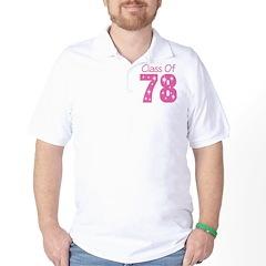 Class Of 1978 Golf Shirt