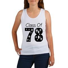 Class Of 1978 Women's Tank Top