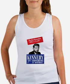 JFK for Congress 1946 Women's Tank Top