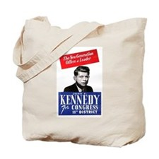 JFK for Congress 1946 Tote Bag