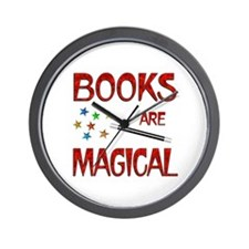 Books are Magical Wall Clock