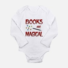 Books are Magical Long Sleeve Infant Bodysuit