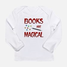 Books are Magical Long Sleeve Infant T-Shirt
