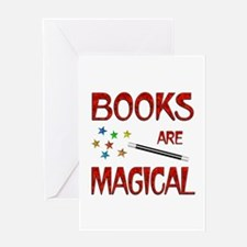 Books are Magical Greeting Card