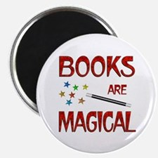 """Books are Magical 2.25"""" Magnet (10 pack)"""