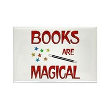 Books are Magical Rectangle Magnet