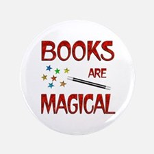 "Books are Magical 3.5"" Button (100 pack)"