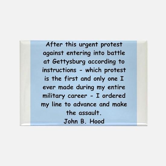 john hood quotes Rectangle Magnet