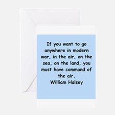 william bull halsey Greeting Card