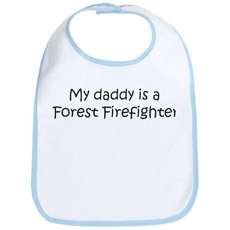 Daddy: Forest Firefighter Bib