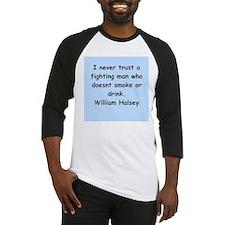 william bull halsey Baseball Jersey