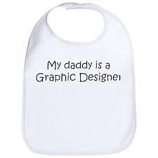 Daddy: Graphic Designer Bib