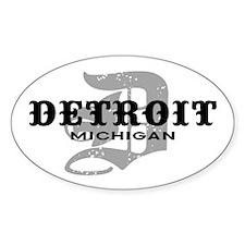 Detroit Michigan Decal