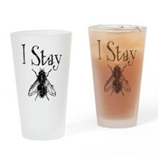Stay Fly Drinking Glass