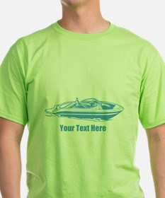 Motorboat. Add Your Text. T-Shirt