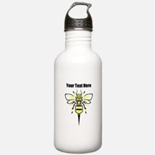 Bee. Add Your Text. Water Bottle