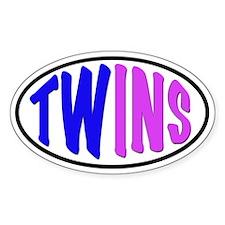Twins Sticker Decal