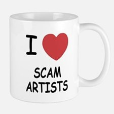 I heart scam artists Small Small Mug