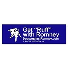 Dogs Against Romney bumber-get-rough final Bumper