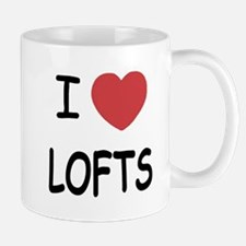 I heart lofts Small Small Mug