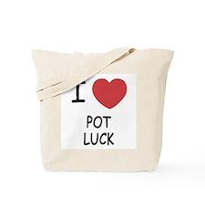 I heart pot luck Tote Bag