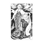 Ford's Snow Queen & Kay Rectangle Sticker
