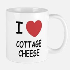 I heart cottage cheese Mug