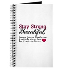 Stay Strong Beautiful Journal