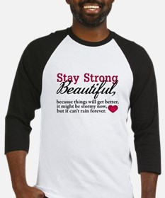 Stay Strong Beautiful Baseball Jersey