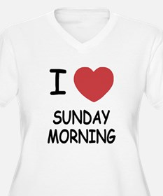 I heart sunday morning T-Shirt