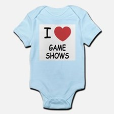 I heart game shows Infant Bodysuit