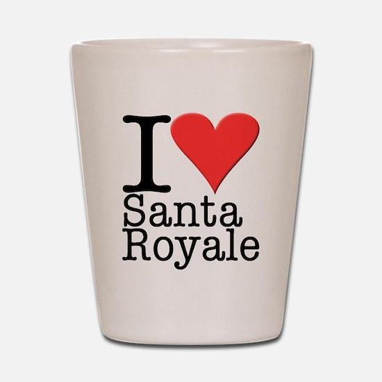 Santa Royale Shot Glass