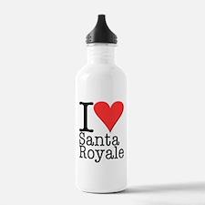 Santa Royale Water Bottle