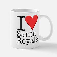 Santa Royale Mug