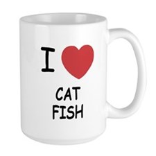 I heart catfish Mug