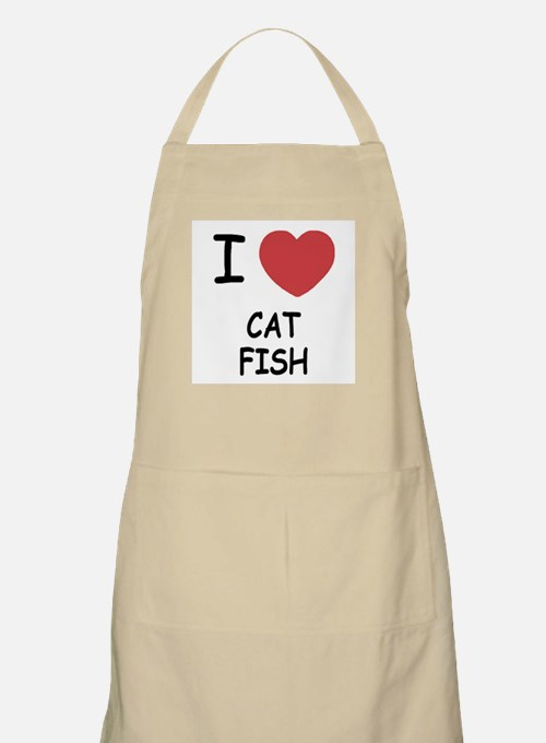 I heart catfish Apron